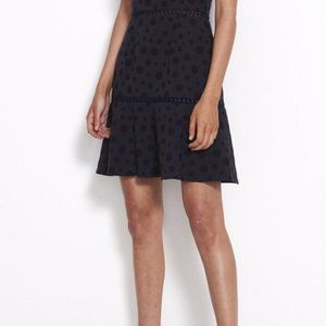 SHILLA the label/ Play lace trim skirt navy S
